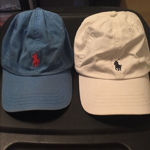 Polo by Ralph Lauren Adjustable hats size 8-20